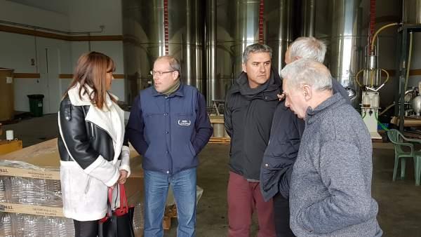 Grupo del PSOE en la Diputación de Málaga