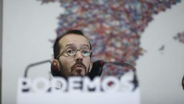 Pablo Echenique, secretario de Organización de Podemos, en una imagen de archivo.