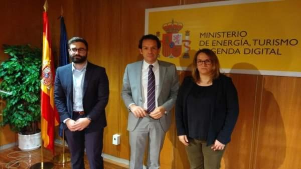 Marc Pons en el Ministerio