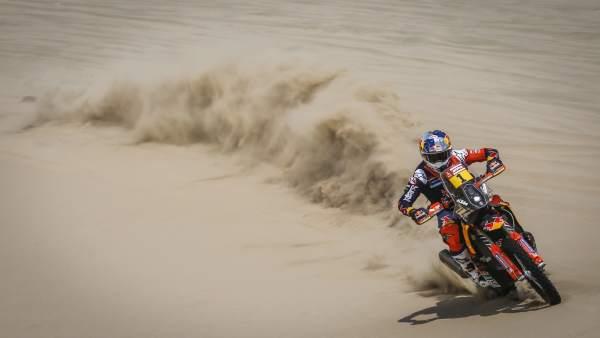 Sam Sunderland en el Dakar