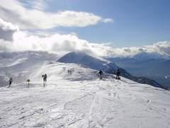 Esquí en las Montañas Rocosas, Canadá