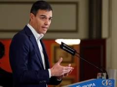 Pedro Sánchez, secretario general del PSOE, este martes en Madrid.