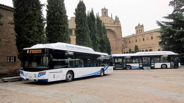 Autobuses urbanos en Salamanca