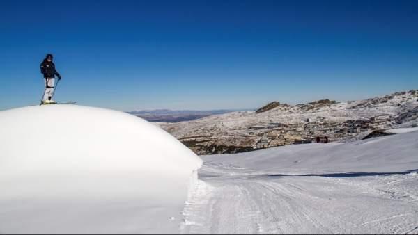 Imagen de la estación de esquí de Sierra Nevada