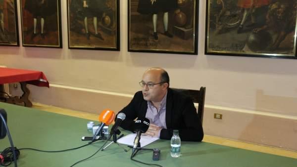 Ramon Royes, alcalde de Cervera (Lleida)