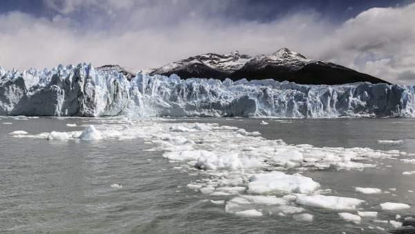 Glaciar en la Patagonia
