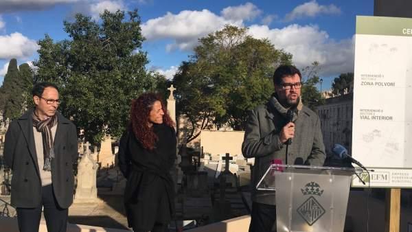 Proyecto de reforma del cementerio de Palma