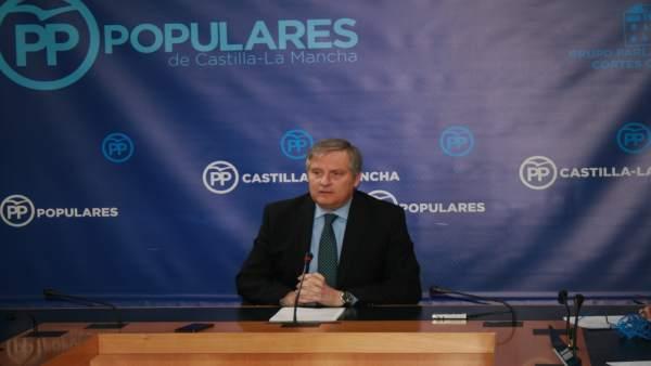 Gpp Clm (Cortes De Voz Y Fotografía) Francisco Cañizares En Rueda De Prensa, 090