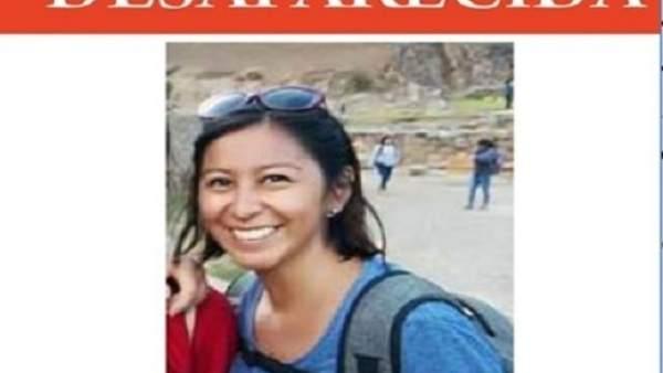 """La Policia peruana """"rastreja exactament els últims passos"""" de la valenciana desapareguda durant un viatge"""