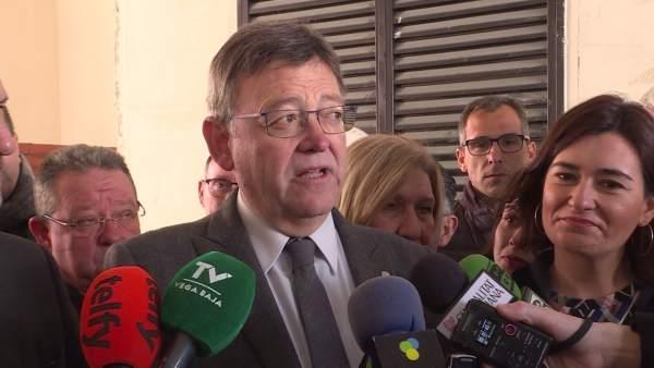 """Puig anuncia un Pla Funcional per a ampliar l'Hospital de la Vega Baixa i cimentar la sanitat de """"proximitat"""""""