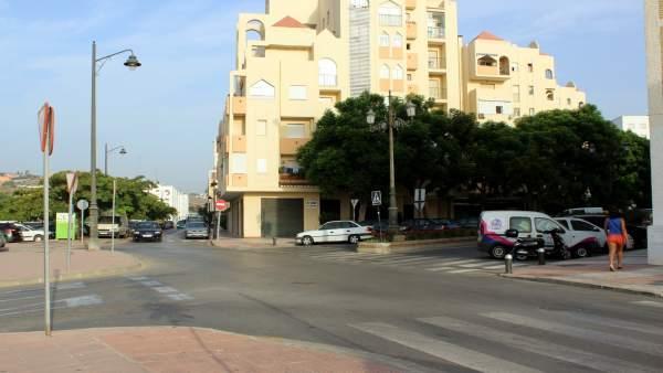 Avenida San Lorenzo Estepona carretera