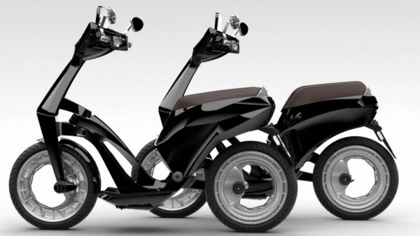 El scooter eléctrico de Ujet
