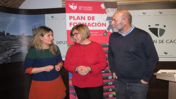 Presentación del Plan de Formación de la Diputación de Cáceres