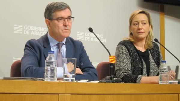 Vicente Guillén y Marta Gastón