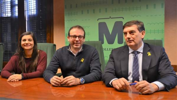 Mónica Segués, Marc Solsona y Miquel Àngel Cullerés