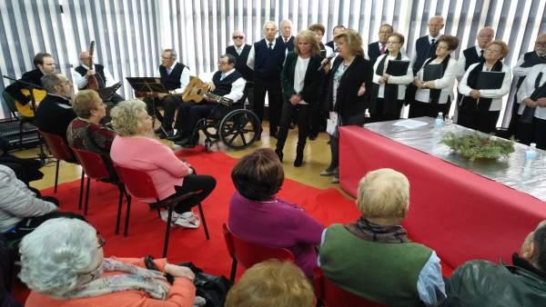 Visita al centro de participación activa Maristas, de Jaén.