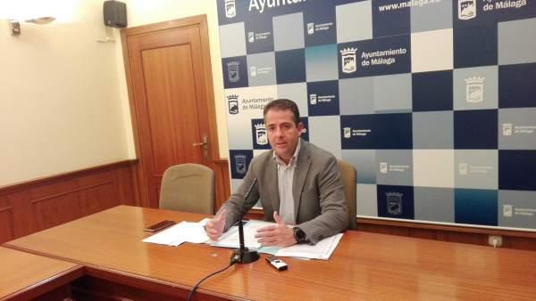 Carlos Conde portavoz equipo de gobierno PP Ayuntamietno de málaga