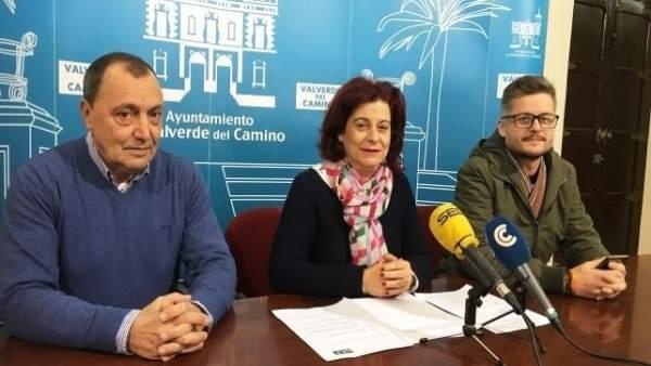 Mª Carmen Castilla, edil en el Ayuntamiento de Valverde del Camino.