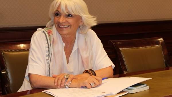 Teófila Martínez, diputada del PP en el Congreso