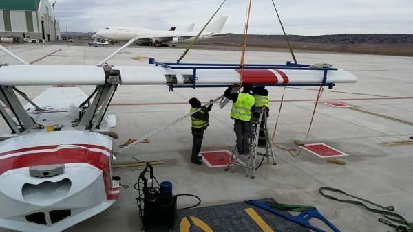 SINGULAR AIRCRAFT En Teruel