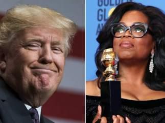 Trump y Oprah