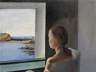 'Figura de perfil' de Salvador Dalí