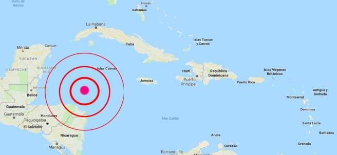 Terremoto en el Caribe