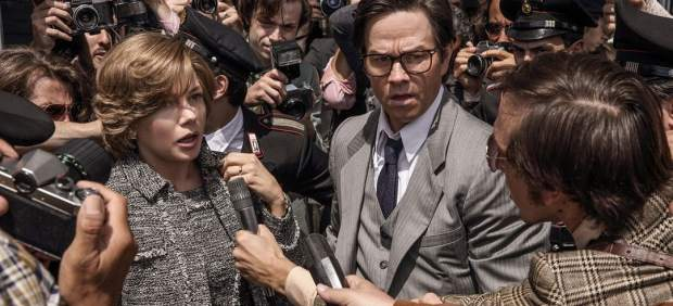 Michelle Williams y Mark Wahlberg