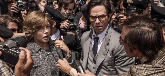Michelle Williams y Mark Wahlberg