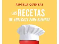 La asesora nutricional de cine, Ángela Quintas, publica un nuevo 'Adelgaza para siempre'