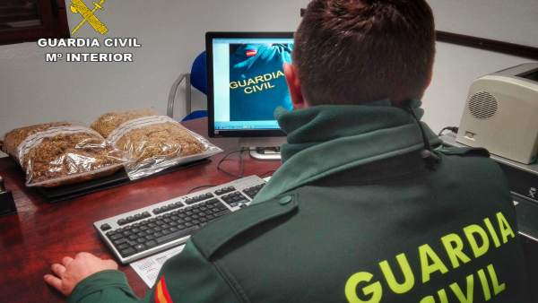 Remitiendo Np Opc Huelva 'La Guardia Civil Interviene 2 Kg. De Picadura De Tabac