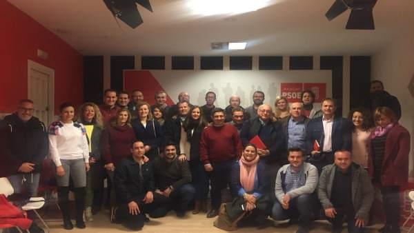 Reunión de los comités comarcales de la Campiña y Noroeste del PSOE.
