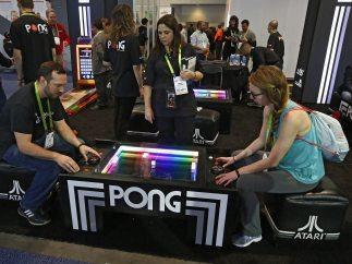 Partida de 'Pong'