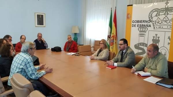 Reunión con miembros de federación vecinal Ciudadanos por Jaén.