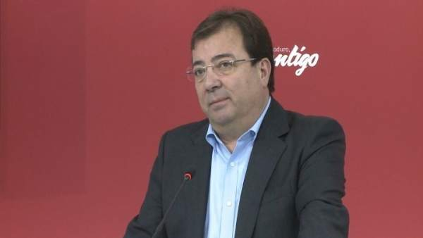 Secretario general del PSOE de Extremadura, Guillermo Fernández Vara