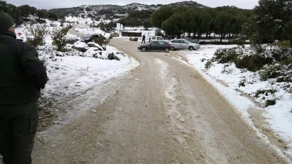 Accesos abiertos a Sierra de las Nieves