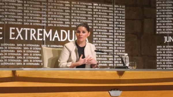 Portavoz de la Junta de Extremadura, Isabel Gil Rosiña