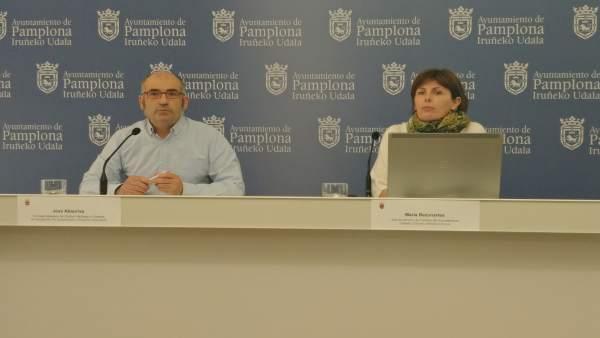 Joxe Abaurrea y María Bezunartea