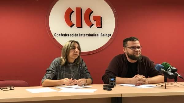 La CIG presenta un informe sobre los ingresos de los gallegos