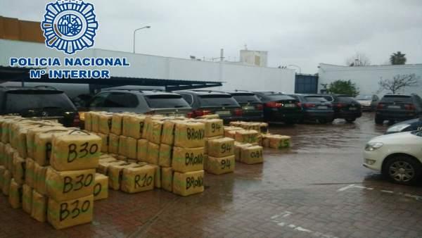Mäs de 11.000 kilos de hachís incautados en La Línea