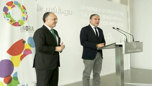 Elías Bendodo Juan Ignacio Zafra