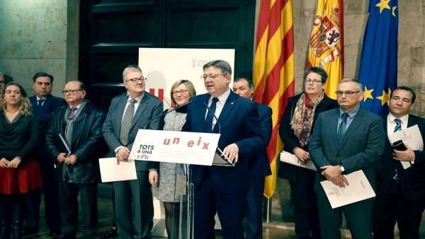 La Generalitat Valenciana espera tindre llesta a la tardor l'estratègia de mobilitat 'Uneix' 2018-29