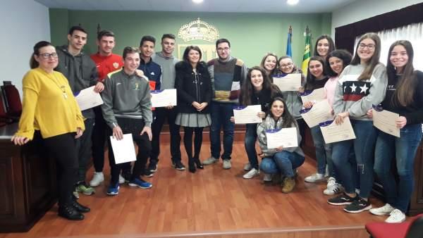 Una veintena de vecinos de Tabernas participan en el curso de Diputación.