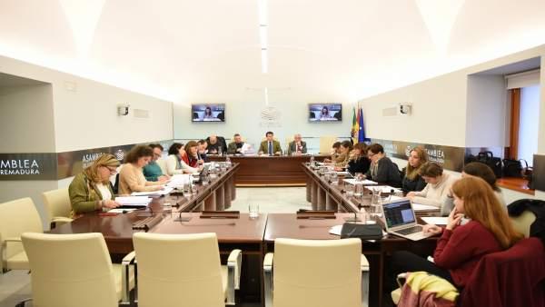Asamblea De Extremadura. Np Enmiendas Parciales A Los Presupuestos 2018 Reservad