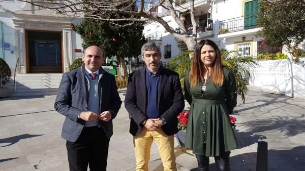 Francisco Conejo PSOE diputación Navas alcalde Benalmádena Irene Díaz diputada