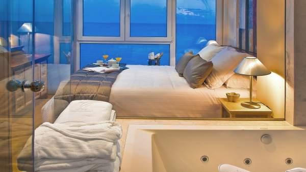 Una de las 'suites' del Villa Venecia