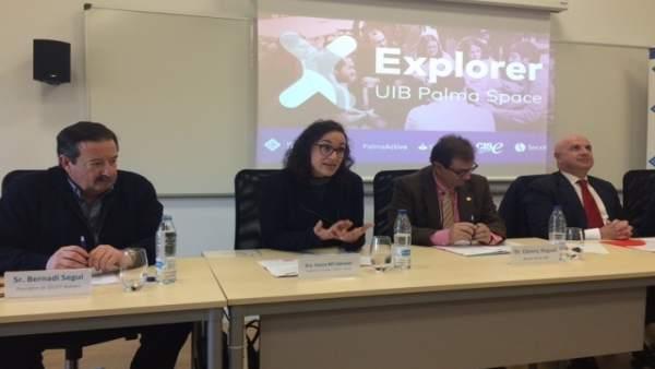 Presentación del programa Explorer Jóvenes con ideas