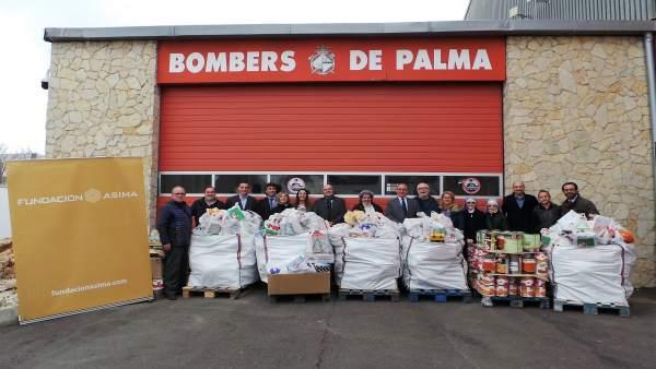 Donación de alimentos de la Fundación Asima a cuatro ONG