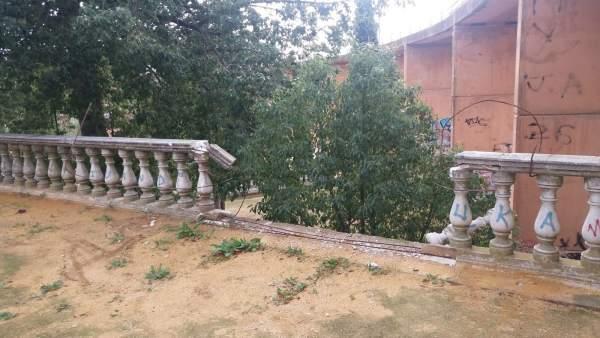 Parque Alonso Sánchez de Huelva.