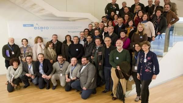 Representantes del profesorado andaluz se reunen en el marco del proyecto Esero